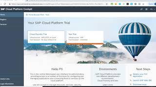 1. SAP Cloud Platform Introduction