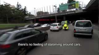 preview picture of video 'Emergency City Bike  -  The motorcycle that saves lives  -  www.emergencycb.com'