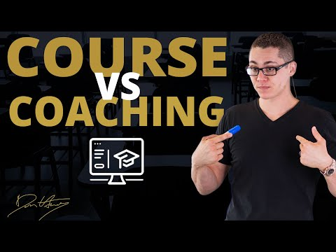 The Difference Between An Online Course and Coaching Program   Dan Henry
