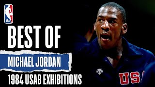 Best Of Michael Jordan 1984 USAB Exhibitions | The Jordan Vault