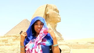 EGPYT with my dad! Day 2 - Pyramids and Sphinx