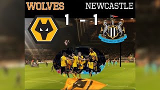 Wolves 1 - 1 Newcastle United| My Match Highlights| (11/02/19)|