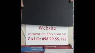 camera quay lén ngụy trang bí mật sổ kẹp tài liệu T88 mới nhất 2018
