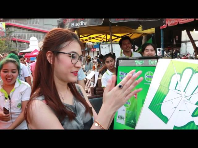 Dettol Wipes - Brand Activation