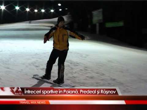 Intreceri sportive in Poiană, Predeal şi Râşnov