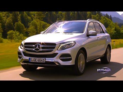 2016 Mercedes Benz GLE 550 e/GLE 500 e Plug In Hybrid EV PHEV FIRST DRIVE REVIEW in Austria