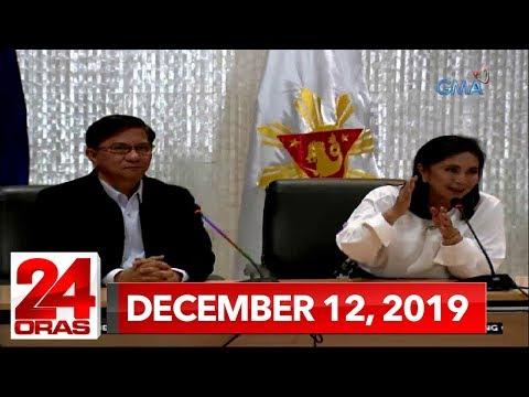 [GMA]  24 Oras Express: December 12, 2019 [HD]