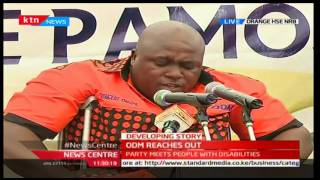 News Centre - 22nd November 2016 - ODM Party meets people with disability