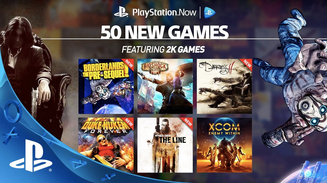 50 New Games Join the PlayStation Now Lineup
