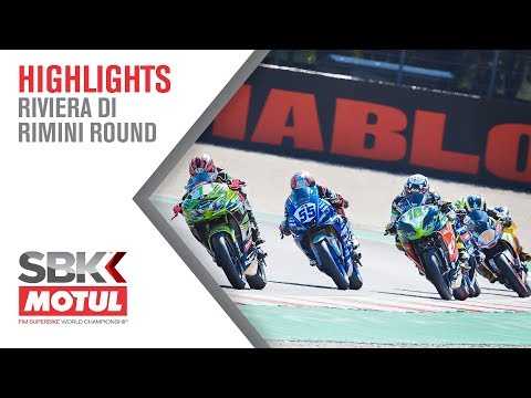 Six Riders Inside One Second!!! - WorldSSP300 | Riviera Di Rimini Round 2019 | WorldSBK