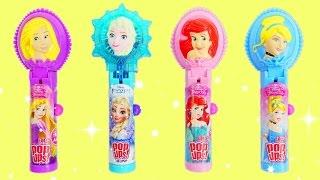 Princess Lollipop Ups Candy With Rapunzel, Ariel & Cinderella