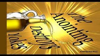By Anointing Jesus break the yoke