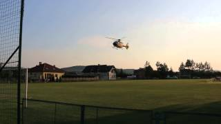 Sieniawa - Odlot helikoptera LPR