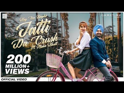 Jatti Da Crush | Kay Vee Singh | Nisha Bhatt | Gametime | Cheetah | Latest New Punjabi Songs 2019 Pagalworld Download