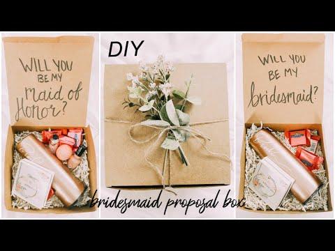 DIY BRIDESMAID PROPOSAL BOXES | HOW I ASKED MY BRIDESMAIDS!