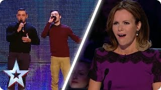 Brothers perform ICONIC AUDITION   Britain's Got Talent