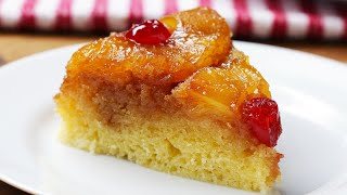 pineapple upside down cake with pudding