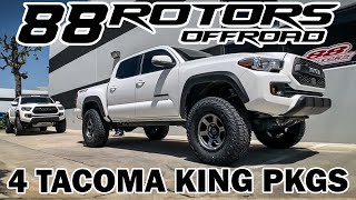 2019 TACOMA TRD PRO King Coilovers, Camburg, & 88AAL