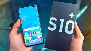 "Samsung Galaxy S10 Plus ""PRISM WHITE"" - UNBOXING & FIRST LOOK!"