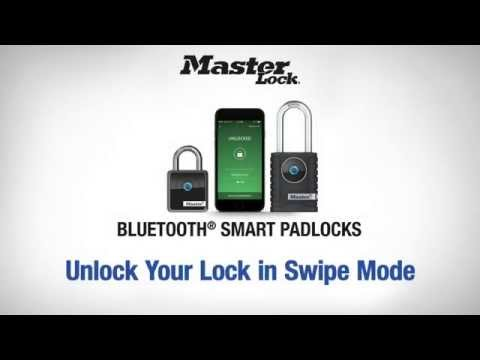 Screen capture of Master Lock 4400D & 4401DLH - Unlock Your Lock in Swipe Mode