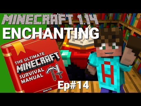 Watch This Before You Enchant in Minecraft 1 14 - OMGcraft