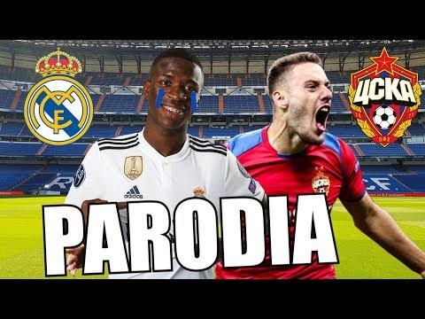 Canción Real Madrid vs CSKA Moscú 0-3 (Parodia Amorfoda)