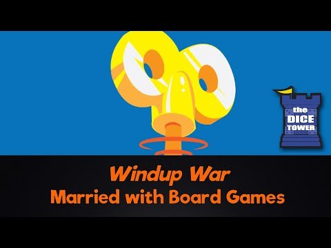 Windup War Review - with Married with Board Games