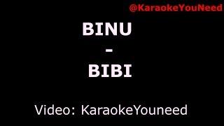 [Karaoke] BINU - BIBI