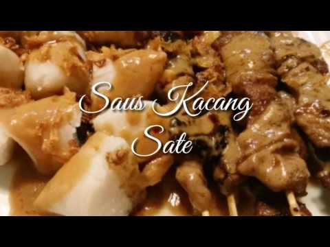 Video Saus Kacang Sate Ayam