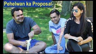 Pehelwan Ji Proposing a Girl -   Lalit Shokeen Comedy  
