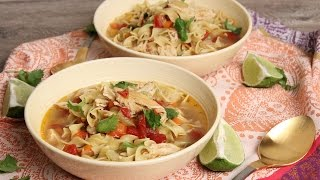 Tex Mex Chicken Noodle Soup | Episode 1141