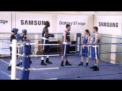 Samsung Commercial for Samsung Galaxy S7 Edge, and Summer Olympic Games (Rio 2016) (2016) (Television Commercial)