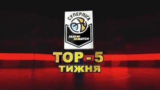 Победный баззер-битер Марченко – в топ-5 недели Суперлиги