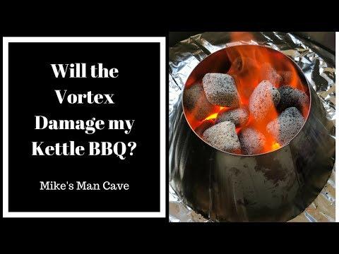 Will the Vortex Damage my Kettle BBQ?