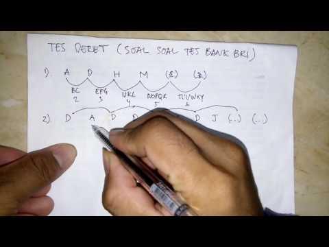 Tips dan Trik Mengerjakan Soal Soal Deret Ujian Masuk Bank BRI