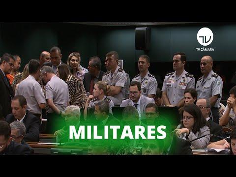 Aprovado texto principal da aposentadoria dos militares - 23/10/19