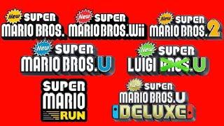 New Super Mario Bros.- All Trailers (2006-2019)