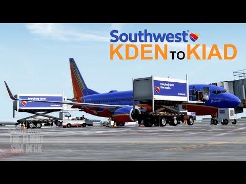 Flightbeam KDEN - Denver International Airport - смотреть