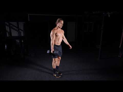 Single Arm Dumbbell Reverse Lunge