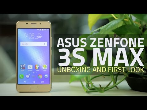 Asus ZenFone 3s Max (ZC521TL) Unboxing and First Look | Camera, Specs, and More