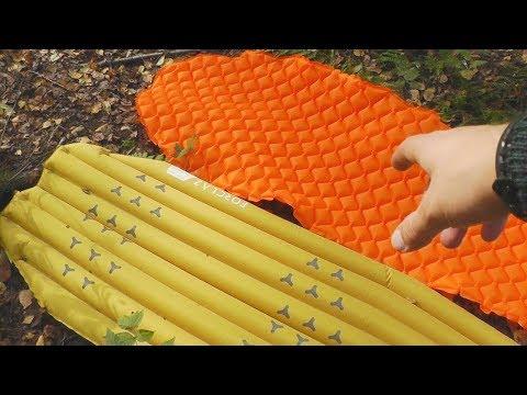 Коврик надувной Декатлон Forclaz Trek 700 L - обзор, сравнения, выбор матраса