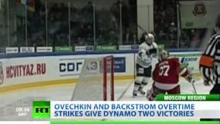 Kovalchuk strikes late, Malkin loses temper in KHL