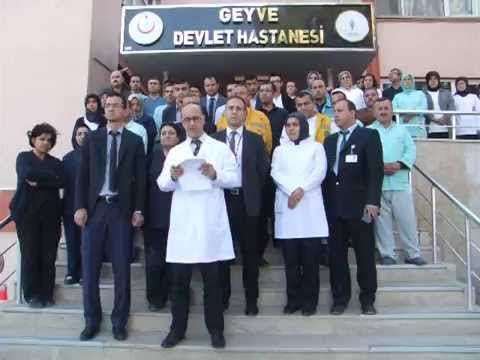 Geyve Devlet Hastanesi Teröre Lanet Basın Açıklaması-Geyvemedya.com