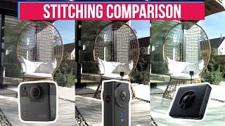 GoPro Fusion VS Yi 360 VR VS Xiaomi Mi Sphere in Stitching & Video quality | 5.2K 360° Test Footage