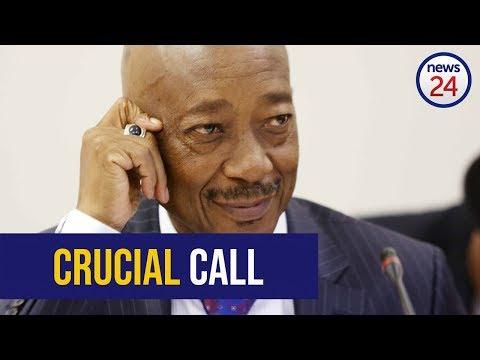 LISTEN: Suspended tax boss Tom Moyane tells SARS man to fake illness ahead of KPMG meeting