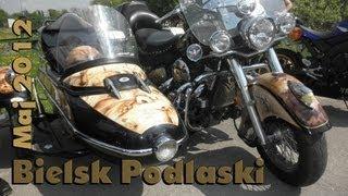 preview picture of video 'Bielsk Podlaski - Otwarcie sezonu motocyklowego 2012'