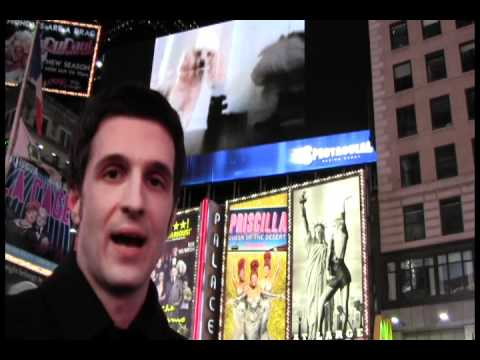 Here's A Guy Hacking A Times Square Jumbotron For Real