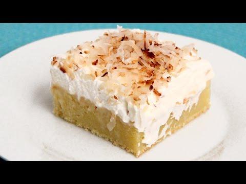 Coconut Tres Leches Cake Recipe – Laura Vitale – Laura in the Kitchen Episode 888