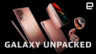 Samsung Galaxy Unpacked 2020 in 12 minutes