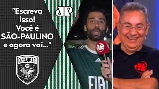Torcedor do Palmeiras ALOPRA Flavio Prado AO VIVO após título da Libertadores!
